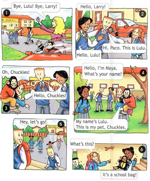 Учебник Spotlight 3. Student's Book. Страница 11