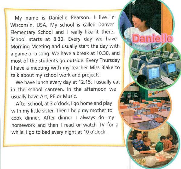 Учебник Spotlight 4. Student's Book. Страница 37