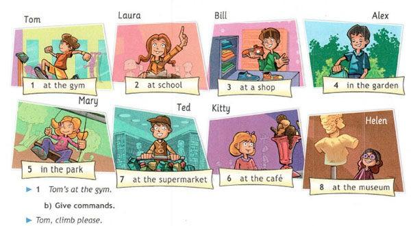 Учебник Spotlight 5. Student's Book. Страница 22