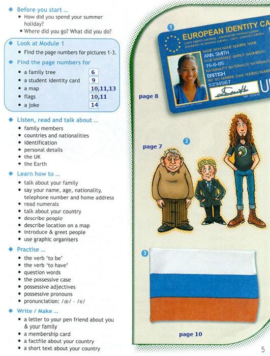 Учебник Spotlight 6. Student's Book. Страница 5