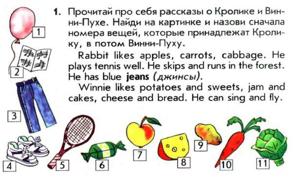 Учебник Enjoy English 1. Student's Book. Страница 119