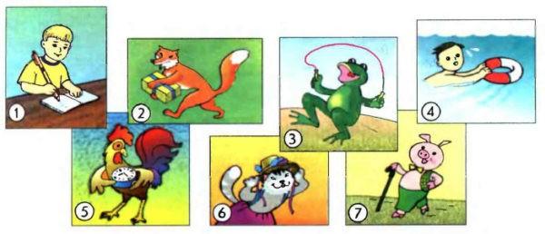 Учебник Enjoy English 1. Student's Book. Страница 61