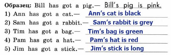 Рабочая тетрадь Enjoy English 2. Страница 36