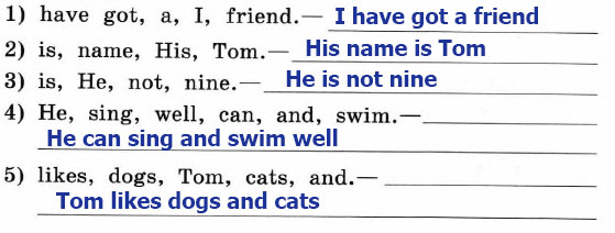 Рабочая тетрадь Enjoy English 2. Страница 58