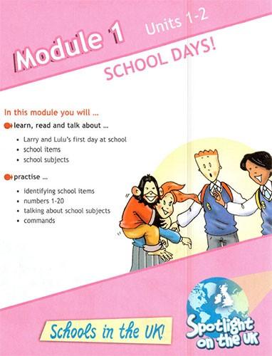 Учебник Spotlight 3. Student's Book. Часть 1. Страница 9