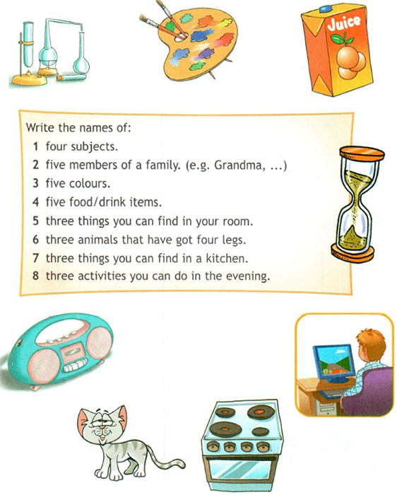 Учебник Spotlight 4. Student's Book. Часть 1. Страница 8