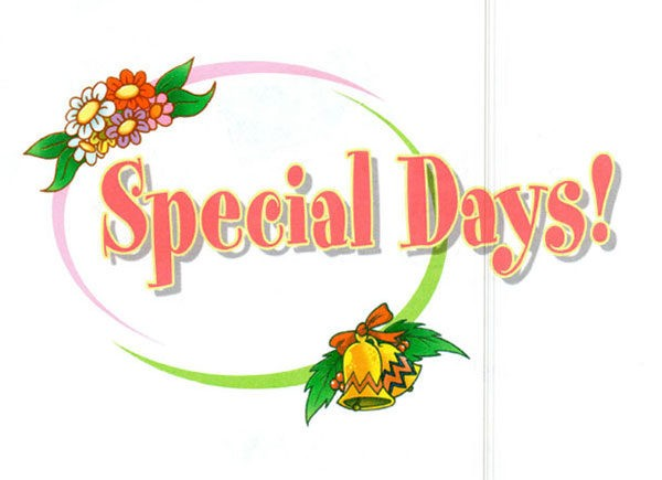 Учебник Spotlight 4. Student's Book. Special Days!