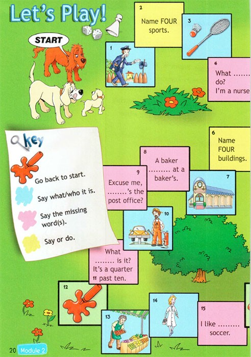 Рабочая тетрадь Spotlight 4. Workbook. Страница 20