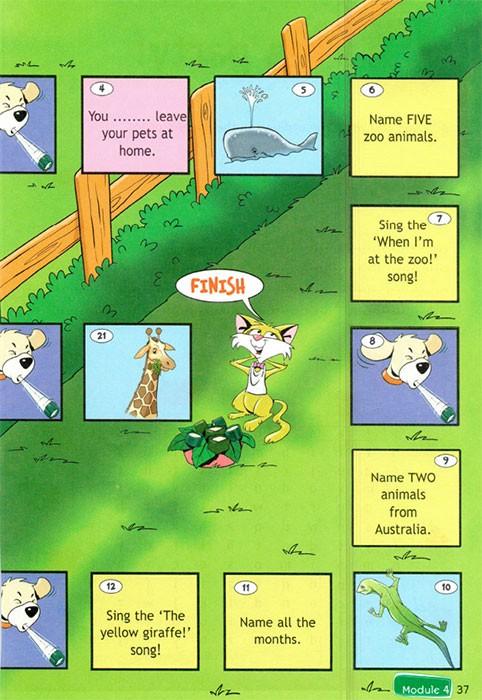 Рабочая тетрадь Spotlight 4. Workbook. Страница 37