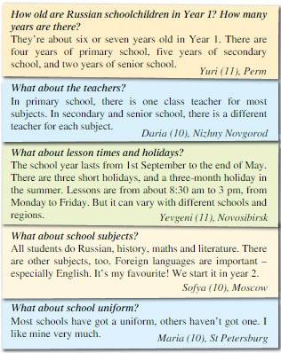 Учебник Spotlight 5. Student's Book. Spotlight on Russia. Страница 3