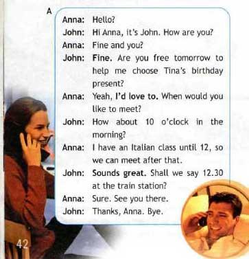 Учебник Spotlight 6. Student's Book. Страница 42