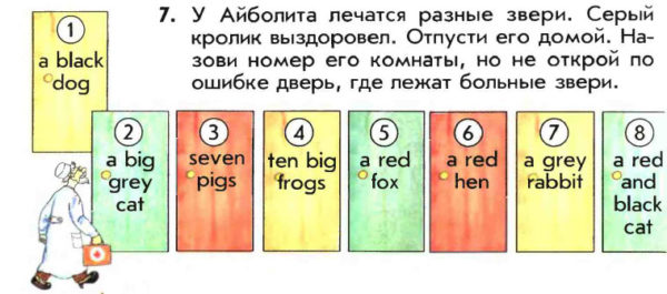 Учебник Enjoy English 1. Student's Book. Страница 62