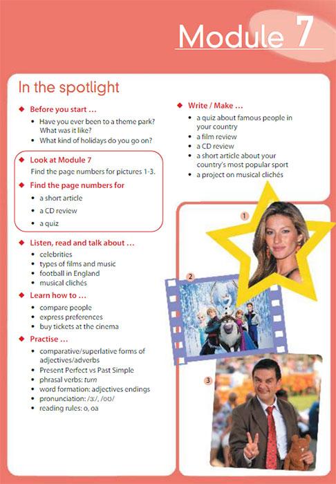 Учебник Spotlight 7. Student Book. Страница 21
