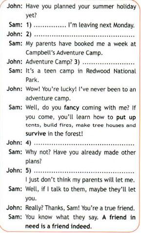 Учебник Spotlight 7. Student Book. Страница 58