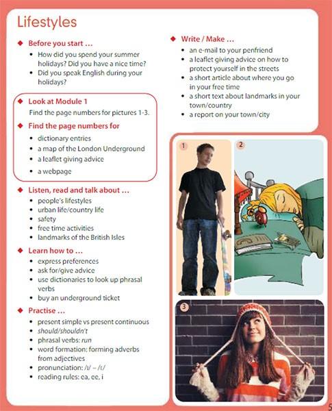 Учебник Spotlight 7. Student Book. Страница 5