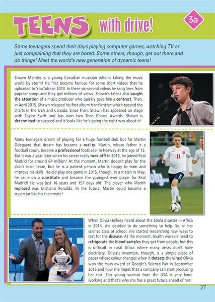 Учебник Spotlight 7. Student Book. Страница 27