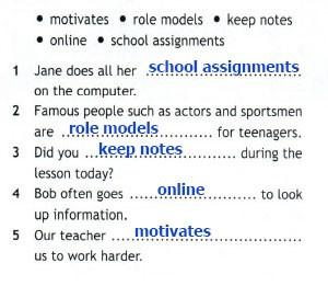 Рабочая тетрадь Spotlight 7. Workbook. Страница 31