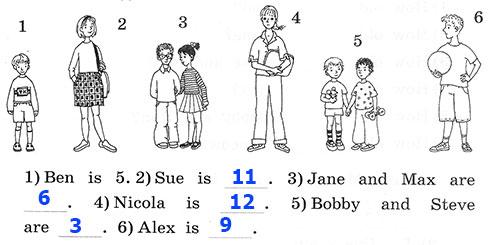 Рабочая тетрадь Rainbow English 2. Step 47