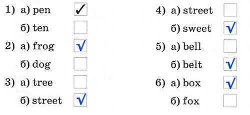Рабочая тетрадь Rainbow English 2. Step 13