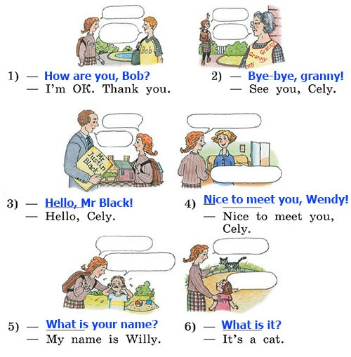 Учебник Rainbow English 2. Step 32
