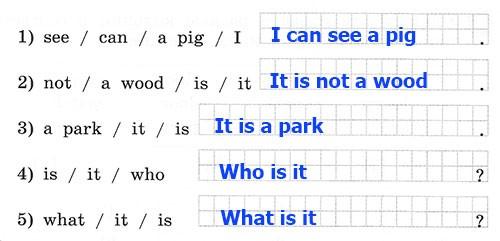 Рабочая тетрадь Rainbow English 2. Step 28