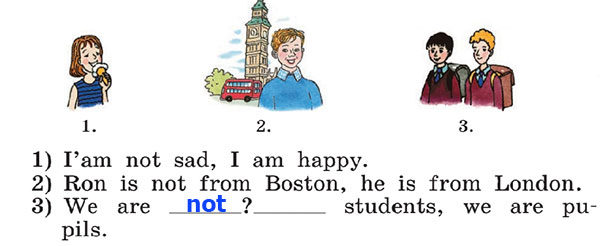 Учебник Rainbow English 2. Step 40