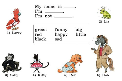 Учебник Rainbow English 2. Step 30