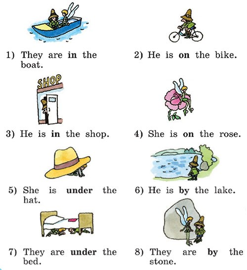 Учебник Rainbow English 2. Step 54