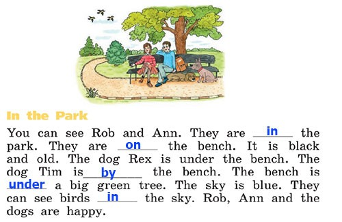 Учебник Rainbow English 2. Step 59