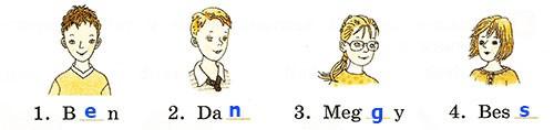 Контрольная работа. Rainbow English 2. Урок 1-7. Вариант 2