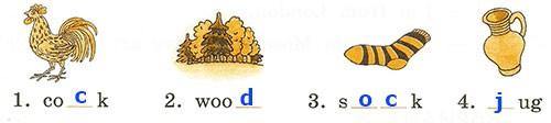 Контрольная работа. Rainbow English 2. Урок 15-21. Вариант 1