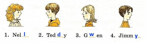 Контрольная работа. Rainbow English 2. Урок 1-7. Вариант 1