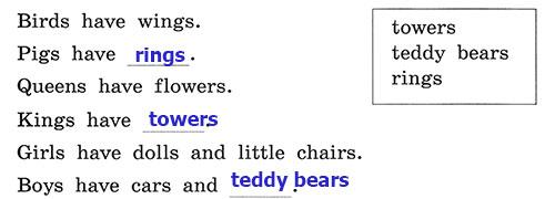 Рабочая тетрадь Rainbow English 3. Unit 2. Step 2