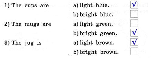 Рабочая тетрадь Rainbow English 3. Unit 3. Step 4