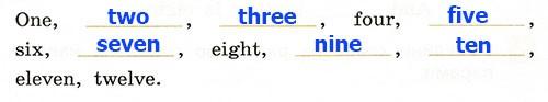 Контрольная работа. Rainbow English 2. Урок 43-49. Вариант 1