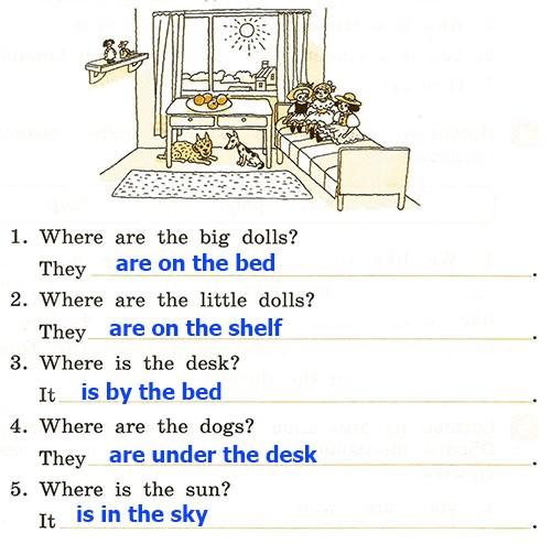 Контрольная работа. Rainbow English 2. Урок 57-63. Вариант 2