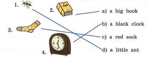 Контрольная работа. Rainbow English 2. Урок 15-21. Вариант 2