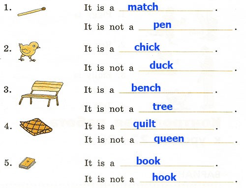 Контрольная работа. Rainbow English 2. Урок 22-28. Вариант 1