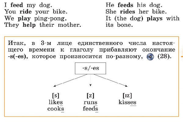 Учебник Rainbow English 3. Unit 2. Step 2