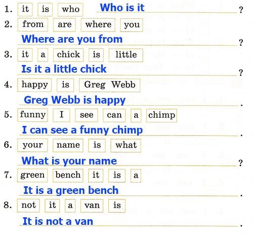 Полугодовая контрольная работа. Rainbow English 2. Урок 1-28. Вариант 2