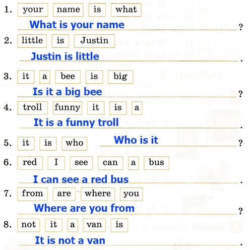 Полугодовая контрольная работа. Rainbow English 2. Урок 1-28. Вариант 3