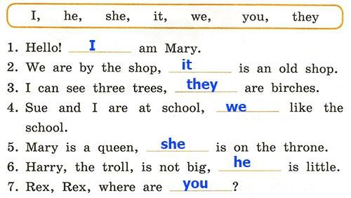 Контрольная работа. Rainbow English 2. Урок 57-63. Вариант 3