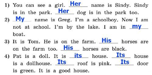 Учебник Rainbow English 3. Unit 1. Step 3