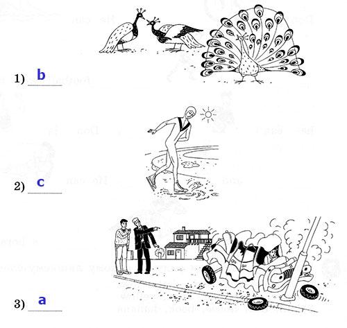 Рабочая тетрадь Rainbow English 3. Unit 4. Step 7