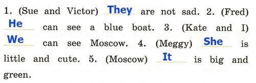 Контрольная работа. Rainbow English 2. Урок 36-42. Вариант 2