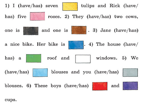 Учебник Rainbow English 3. Unit 3. Step 2