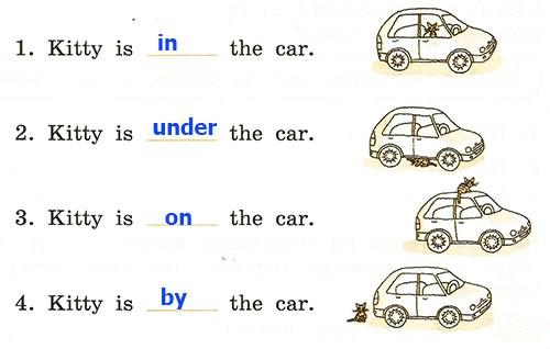 Контрольная работа. Rainbow English 2. Урок 50-56. Вариант 1