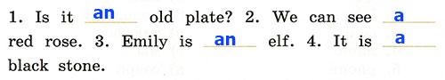 Контрольная работа. Rainbow English 2. Урок 29-35. Вариант 3