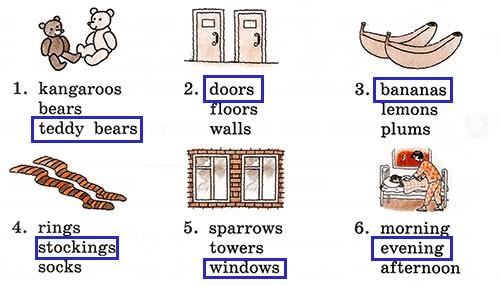 Контрольные работы Rainbow English 3. Units 1-4. Вариант 3