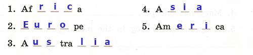 Контрольные работы Rainbow English 3. Unit 7. Вариант 1